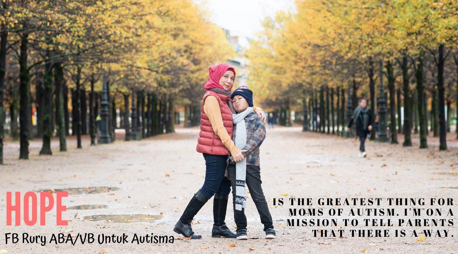 Rury ABA Dan VB Untuk Autisma